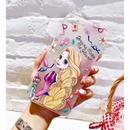 輸入雑貨 ディズニー プリンセス  ケータイカバー  iphone X 最大種類 iphone 8 7 6 6 s-plus 半透明ケース ラプンツェル