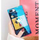 輸入雑貨 スヌーピー ケータイケース snoopy ケータイカバー  iphone XR XsMAX 最大種類 iphone 8 7 6 6 s-plus ミラーブラック 1
