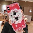 輸入雑貨 ディズニー プリンセス  ケータイカバー  iphone XR XsMAX 最大種類 iphone 8 7 6 6 s-plus Close eyes 白雪姫