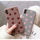 輸入雑貨 シンプル ハート ♡  iphone XR ケース 最大種類 iphone 8 7 6 6 s-plus スマホケース 2
