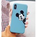 輸入雑貨 ミッキー ディズニー ケータイカバー  iphone XR XsMAX 最大種類 iphone 8 7 6 6 s-plus クラブミッキーブルー