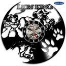 輸入雑貨 ライオンキング 30cm レコード盤 壁掛け時計 アニメ 映画 人気  インテリア ディスプレイ 4種類展開 3