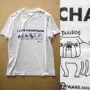 I LOVE 鼻ぺちゃ犬6種整列プリント ライトオンスTシャツ