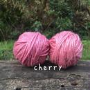 手染め麻糸/cherry