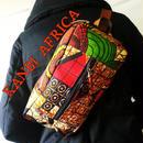 アフリカ布メンズレディースボディバッグ♪