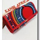 アフリカ布大容量長財布♪