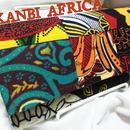 アフリカ布長財布♪
