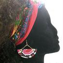 ~african sircle cut pierce ~