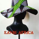 両面アフリカ布フリーサイズキャプリン♪