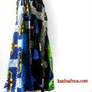 74  アフリカ布スーパーフレアスカート
