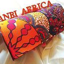 アフリカ布長財布