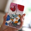 モバイルバッテリー 浮世絵(猫が釣り)
