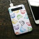 モバイルバッテリー カラフル猫