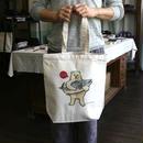 トートバッグ シロクマのプレゼント(受注生産)