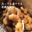 有機生姜(生鮮)洗い 1kg