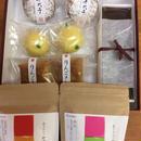 冬のお菓子と野草茶セット(中)