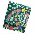 絞りの袋帯 緑色