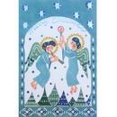 クリスマスカード:静かな夜