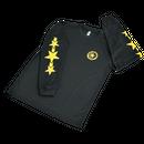 REAYU ロングTシャツ 【KA-103】<ブラック>