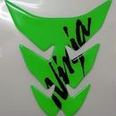 カワサキタンクパッド (ライムグリーン) Ninja(J2007-0039)