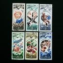 ドイツのおじいさんが収集していた古切手(8) ソ連の宇宙