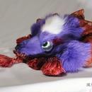 けものヘッドドレス(紫)