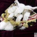 白ウサギのポーチ