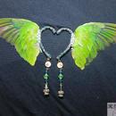 翼イヤーフック(緑)