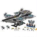 レゴ 互換品 Lepin社製マーベルスーパーヒーローズ ザ・シールド ヘリキャリア 76042風