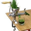 ハンドジューサー  スロージューサー ステンレス 野菜&果物抽出機