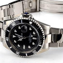 Reginald クォーツ腕時計 ブラック