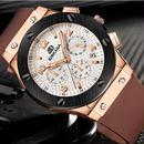 【人気★高級】BINKADA海外ブランド輸入スポーツモデル腕時計 RG クロノグラフ コンプリートカレンダー機能 サファイアガラス風防 防水