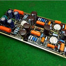 ハイエンドM7真空管フォノRIAA LPターンテーブルプリアンプのHiFiステレオマランツ7プリアンプ(チューブなし)ボードを組み立て