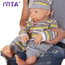 本格リボーンドール 高級フルシリコン 入浴可能 海外ドール リアル赤ちゃん人形 ベビードール ベビー人形 46cm3800g 新生児 新品 男の子