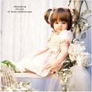 リボーンドール ボブヘア 2つ結び女の子 プリンセスドール トドラー 赤ちゃん人形 ベビー人形 ベビードール 衣装付き
