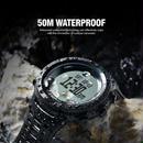 多機能腕時計 メンズ  アウトドア スポーツ 防水 デジタル 高度計 バロメーターコンパス 温度計 ハイキング 登山