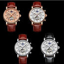 海外ブランド 高級 腕時計 機械式 自動巻き シルバー トゥールビヨン 日本未発売 メンズ 希少