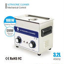 強力超音波クリーナー3.2L 120W 超音波洗浄器 機械式制御 業務用