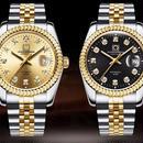 海外 腕時計 人気 シンプル 高級 スイスブランド メンズ メカニカル デイトジャスト18k イエローゴールド ダイヤモンド ジュビリーバンド