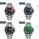 Loreo 腕時計 ロレックス風 高級ブランド 日本未発売品 防水 機械式