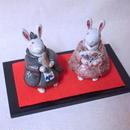 うさぎ 雛人形 set
