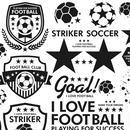 サッカー&フットサル(ブラック)