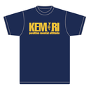KEMURIロゴ Tシャツ(ネイビー)