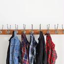 ichiAntiquités 100650 LinenTartan Pants / RED
