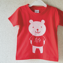 "KGM ""くま"" TEE (kids size)"
