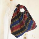 大人の上質あずま袋/マギンダナオ族(フィリピン)手織り布(A)