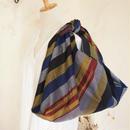 大人の上質あずま袋/マギンダナオ族(フィリピン)手織り布(B)