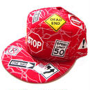 TRAFFIC SIGNAL CAP red