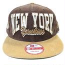 NEW ERA N.Y.YANKEES CORDUROY SNAPBACK CAP