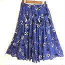 flower long skirt